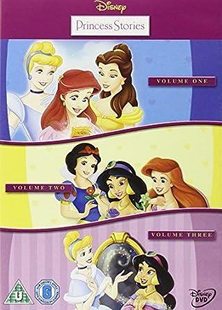 Disney Princess Stories - Vol. 1-3 Reino Unido DVD: Amazon.es ...