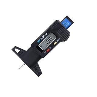 YUMUYMEY Calibro Digitale elettronico del Calibro del battistrada 0-25mm Calibro a corsoio (Size : 0-25mm)
