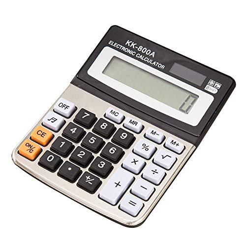 VelvxKl Electronic Digital Calculator Office Financial Accounting School Desktop 8 Digit Stationery