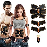 MEILYLA Muscle Toner Abdominal Toning Belt Wireless EMS ABS Trainer for Abdomen/Arm/Leg Training Men Women