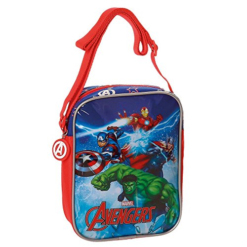 Los Vengadores Ice Borsa Messenger, 20 cm, 1.8 liters, Multicolore (Multicolor)