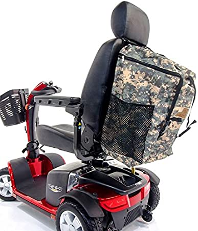 Amazon.com: Scooter Patriótica Mochila seatback Mega Bolsa ...