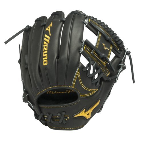 Mizuno GMP500AXBK Pro Limited Edition Ball Glove, 11.75-Inch, Right Hand Throw ()