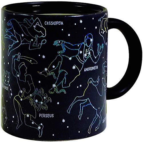 Calor cambiando constelación Taza por los Unemployed Philosophers Guild–Estrellas aparecen en...