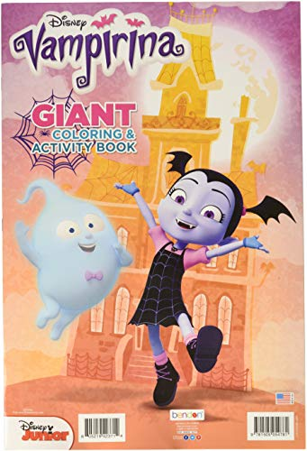 (Bendon Disney Junior Vampirina Giant Coloring & Activity)