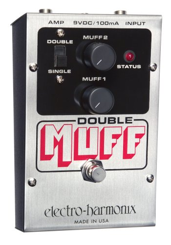 (Electro-Harmonix Double Muff Distortion Pedal)