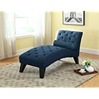 NHI Express Mila Chaise Lounge, 61 by 26.5 by 32', Blue