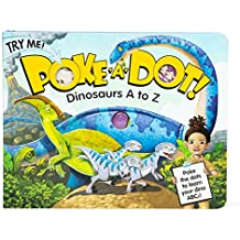 Melissa & Doug Children's Book - Poke-a-Dot: Dinosaurs A to Z (Board Book with Buttons to Pop, Great Gift for Girls and Boys - Best for 3, 4, 5 Year Olds and Up)
