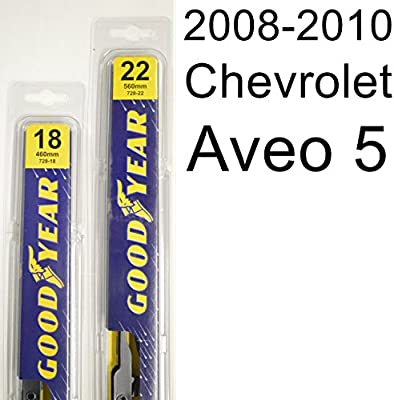 Amazon Chevrolet Aveo 5 2008 2010 Wiper Blade Kit Set