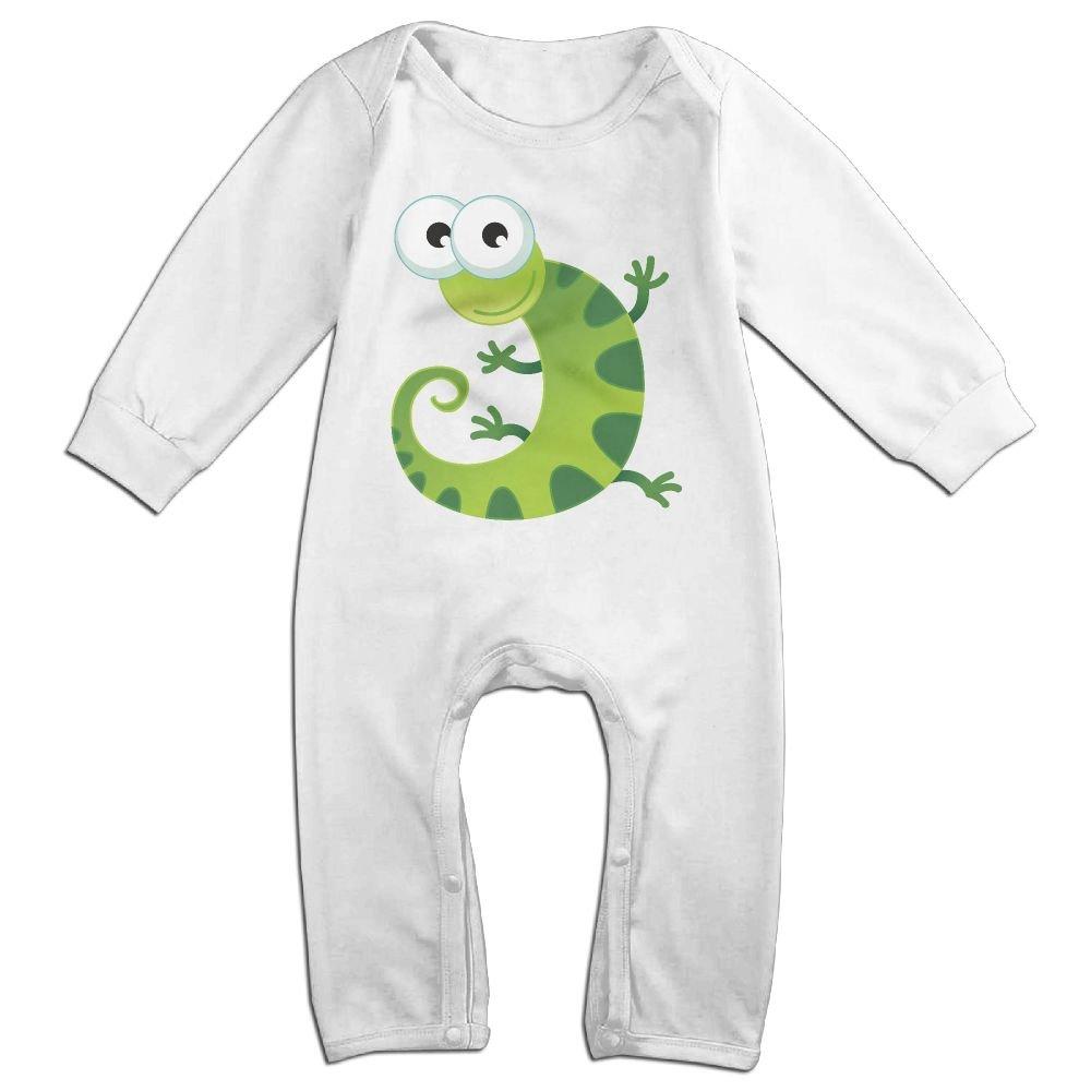 Amazon Com Ttopuu Green Little Gecko Baby Girl Boy Clothes Cartoon