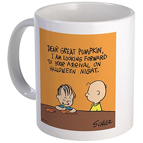 CafePress Letter To The Great Pumpkin Mug Unique Coffee Mug, Coffee Cup -