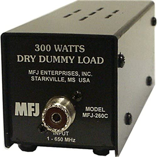 MFJ Enterprises Original MFJ-260C Dummy Load, 300 Watt, 0-650 MHz, Dry