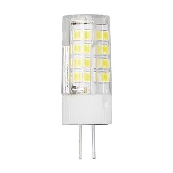JUNERAIN - Bombilla LED G4 de maíz para lámpara de Techo (5 W, 52