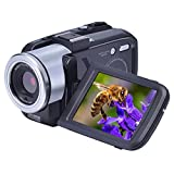 SEREE Camcorders FHD 1080P 24.0 Megapixels Portable Digital Video Camcorder Night Vision Camera DV 16X Digital Zoom