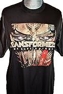 Transformers The Last Knight Movie T-Shirt Bumblebee Optimus Prime Megatron (Large Optimus)