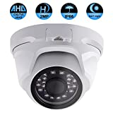 Product review for Security Dome Camera, ZY 2.0MP 3 in 1 (AHD/TVI/CVI) IR night vision 1080P surveillance analog camera 3.6mm lens ICR auto day night wide angle Outdoor/Indoor IP66 weatherproof surveillance camera