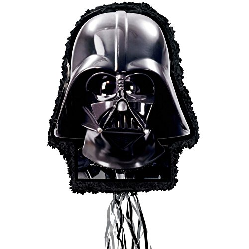 Darth Vader Pinata (Star Wars Darth Vader Pull String Piñata 22 inches)