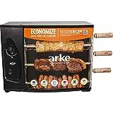 Churrasqueira A Gás Rotativa Acendedor Com 3 Espetos Agr-03 Arke