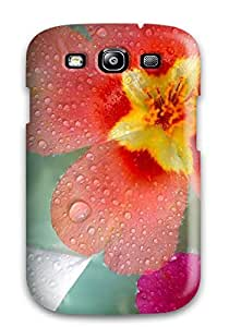 Galaxy Case - Tpu Case Protective For Galaxy S3- Fresh Flowers