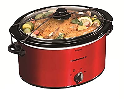 Hamilton Beach Best 5 Quart Slow Cooker Oval Slow Cookers Easy To Manage Cooking Time by Hamilton Beach