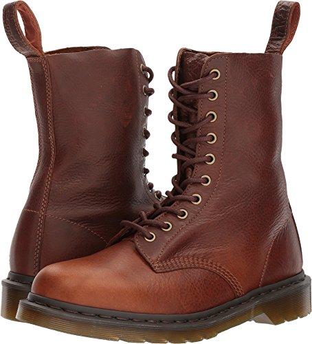 Dr. Martens 1490 Harvest Leather Fashion Boot, Tan, 7 Medium UK (US Women's 9, US Mens 8 US) -