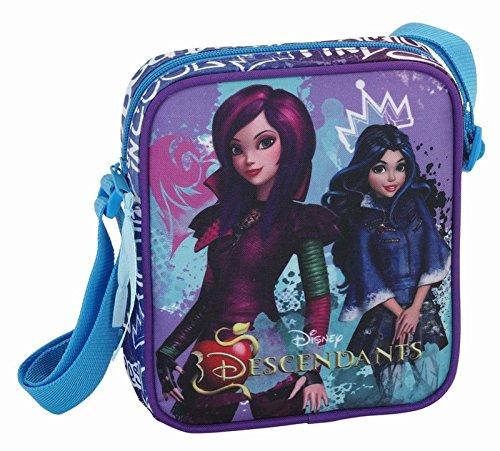 Descendants Tasche Handtasche Umhängetasche Disney 16x18x4 + Geldbeutel (6)