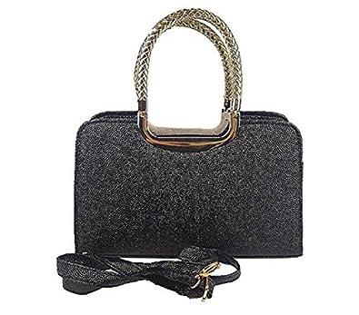 VISKEY Women's Golden Handles Leather Handbag: Handbags: Amazon.com