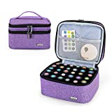 Luxja Essential Oil Carrying Case - Holds 30
