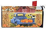 Briarwood Lane Pumpkin Patch Pickup Autumn Magnetic Mailbox Cover Farm Standard