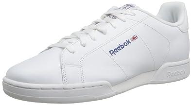Reebok Npc II - Zapatillas de Tenis, Hombre, Blanco (1354), 39 EU: Amazon.es: Zapatos y complementos