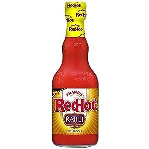 Franks Redhot Rajili Asian Sweet Ginger Sauce, 12 Fluid Ounce -- 12 per case.