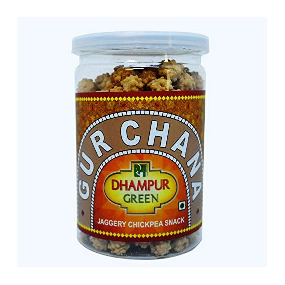 Dhampure Speciality Gur Chana Jar (200 Gms)