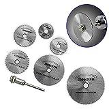 Tangc HSS Rotary Circular Saw Blades Tool Cutting Discs Mandrel...