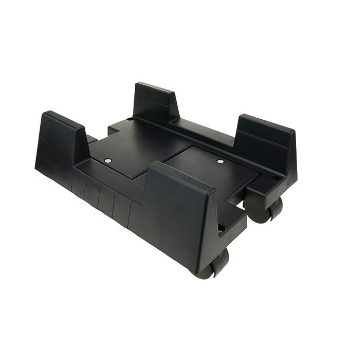 BeMatik - Soporte para Ordenador PC con Ruedas de Color Negro: Amazon.es: Electrónica