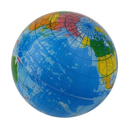 Zinniaya Mapa del Mundo Azul Espuma Globo terráqueo Alivio ...