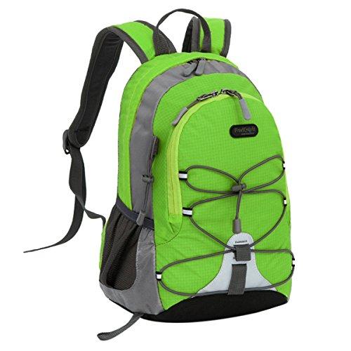 Free Knight Children Bag Small Backpack Daypack Rucksack for Sport Travel Camping - Light Green]()