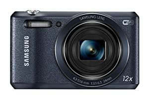 "Samsung WB35F 16.2MP Smart WiFi & NFC Digital Camera with 12x Optical Zoom and 2.7"" LCD (Black)"