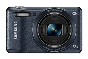 """Samsung WB35F 16.2MP Smart WiFi & NFC Digital Camera with 12x Optical Zoom and 2.7"""" LCD (Black)"""
