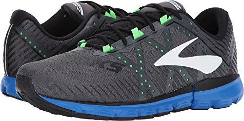 Brooks Men's Neuro 2 Anthracite/Electric Brooks Blue/Green Gecko 9 D US