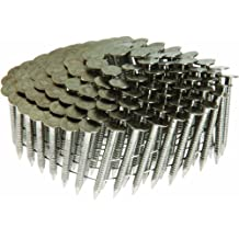 Grip Rite Prime Guard Max MAXC62873 1-1/4-Inch Coil Roofing 304 Ring Shank, Stainless Steel, 600-Pack