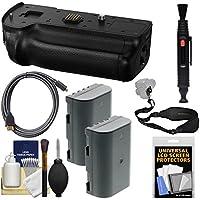 Panasonic DMW-BGGH5 Battery Grip Lumix DC-GH5 & GH5S Camera (2) DMW-BLF19E Batteries + Sling Strap + HDMI Cable + Kit