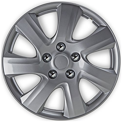 16 inch Hubcaps Best for 2010-2011 Toyota Camry - (Set of 4) - Import It All