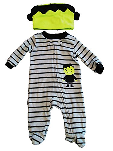 Just One Youby Carter's Baby Boys' Monster Sleep N' Play and Hat Set