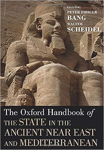 The Oxford Handbook of the State in the Ancient Near East and Mediterranean Oxford Handbooks: Amazon.es: Bang, Peter Fibiger, Scheidel, Walter: Libros en idiomas extranjeros