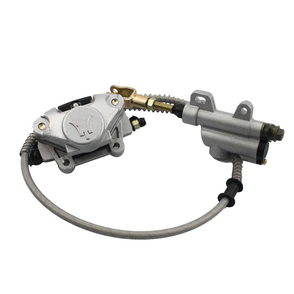 GOOFIT Accesorio de Freno de Disco Trasero sin Petrolero para 110cc 125cc 150cc 200cc 250cc ATV C029-048