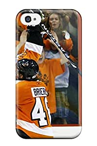 Hot 3263989K314117489 hockey nhl philadelphia flyers gg NHL Sports & Colleges fashionable iPhone 4/4s cases