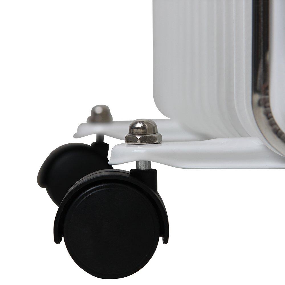 Interruptor encendido 3 niveles de potencia Apagado autom/ático monzana/® Radiador el/éctrico de aceite Temporizador 24 horas Regulaci/ón de temperatura 1000W 1400W 2500W 13 elementos