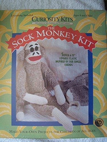 The Sock Monkey Kit 15 Inch -