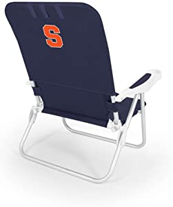 NCAA Syracuse Orange Monaco Folding Beach Chair