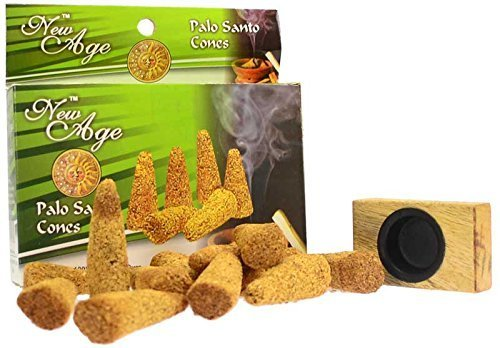 (New Age Imports Palo Santo Cones, 12 Cones with Wooden)